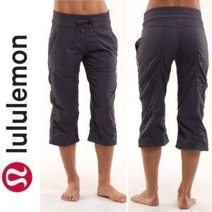 Lululemon Studio Crop Pants Coal